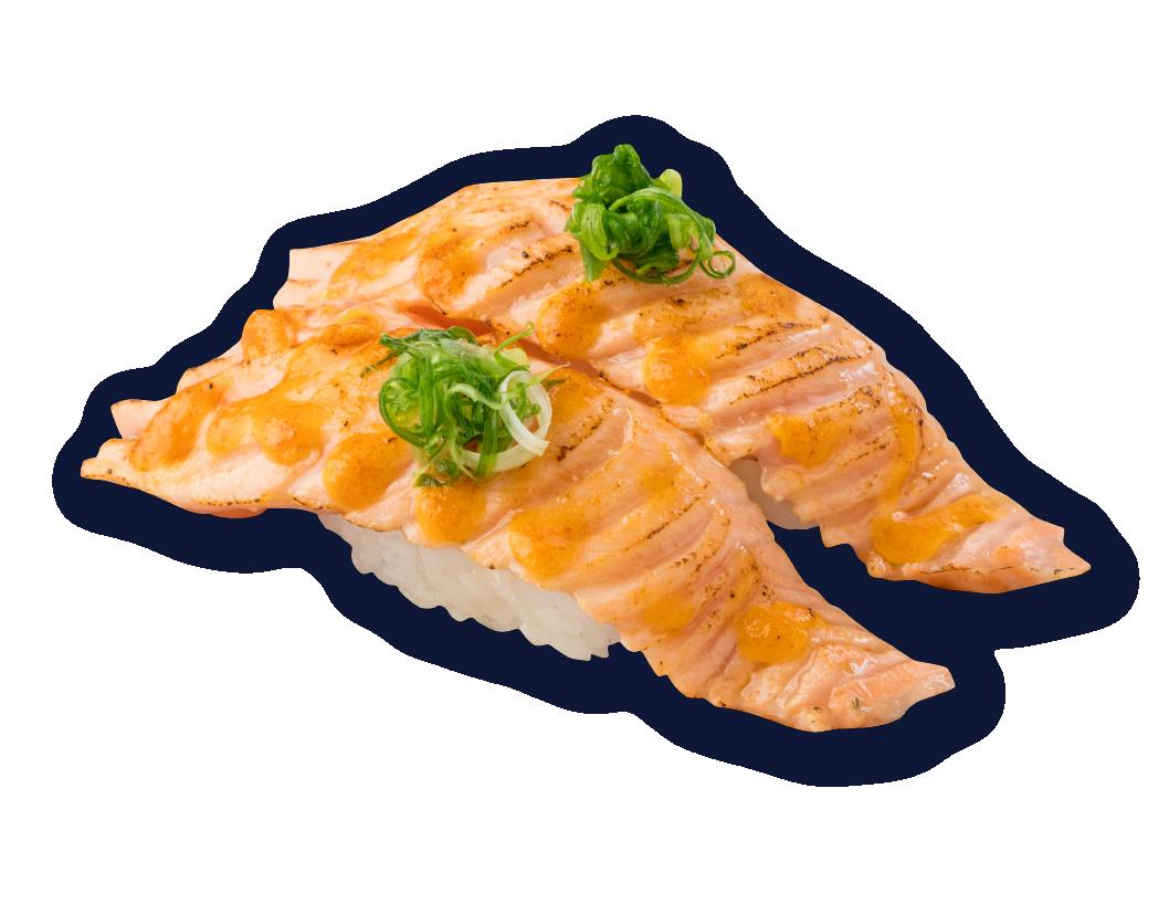 火焰三文魚