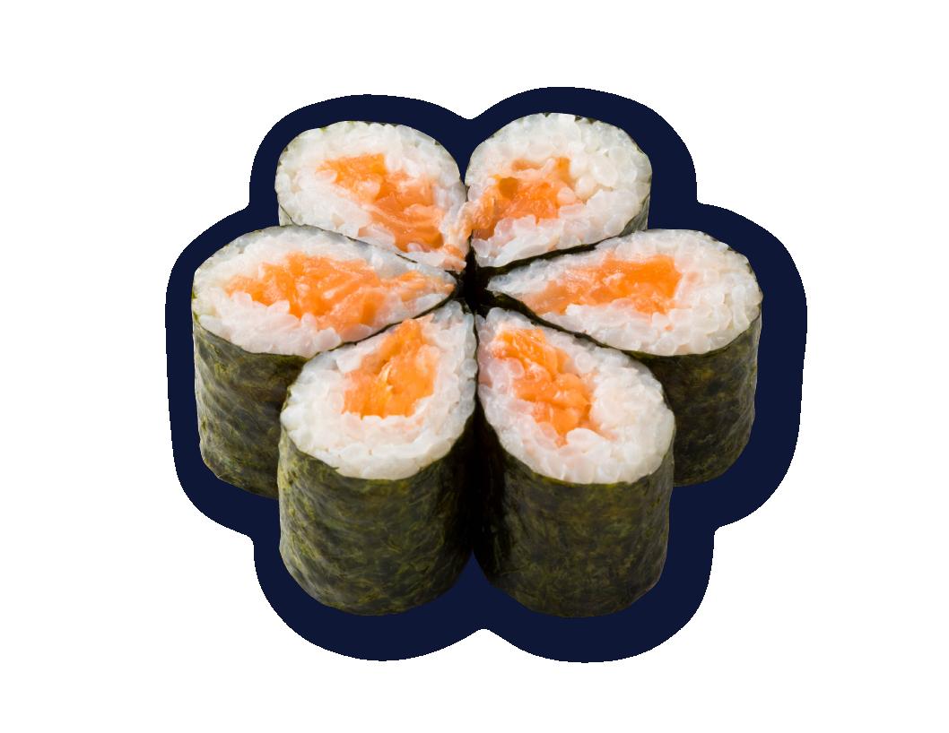 三文魚細卷