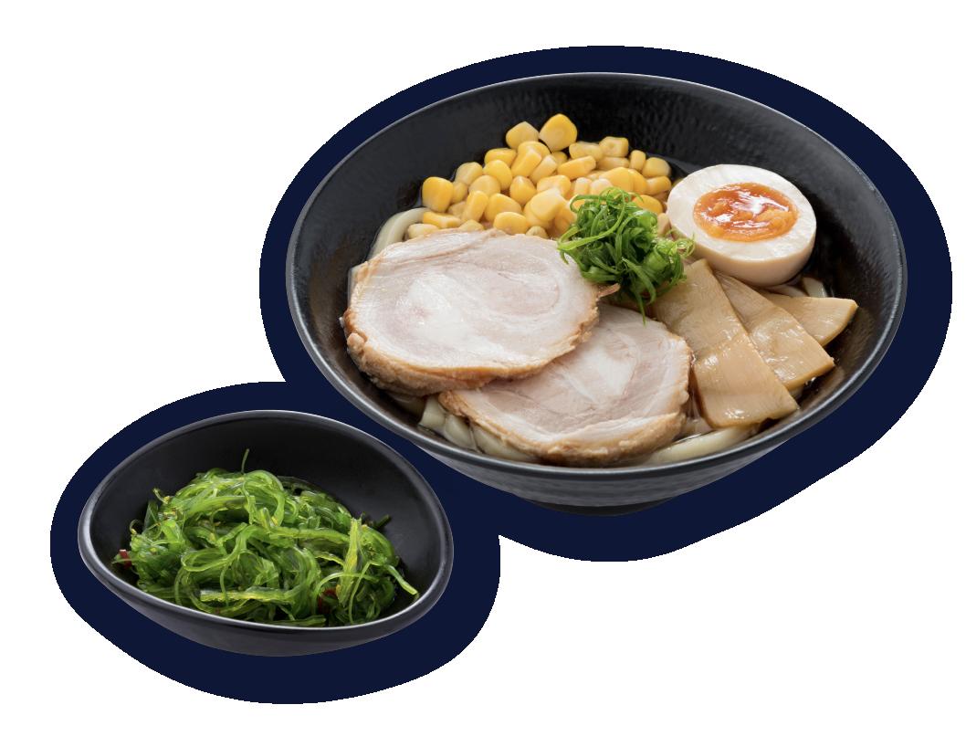 日式叉燒烏冬(定食)