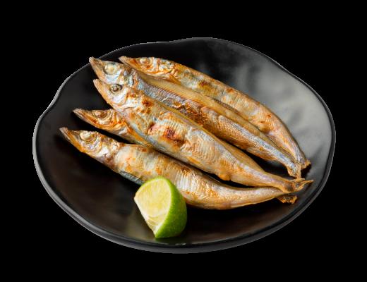 鹽烤多春魚