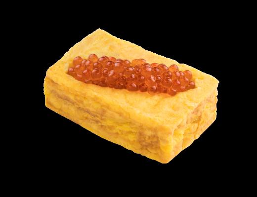 厚切三文魚籽玉子燒