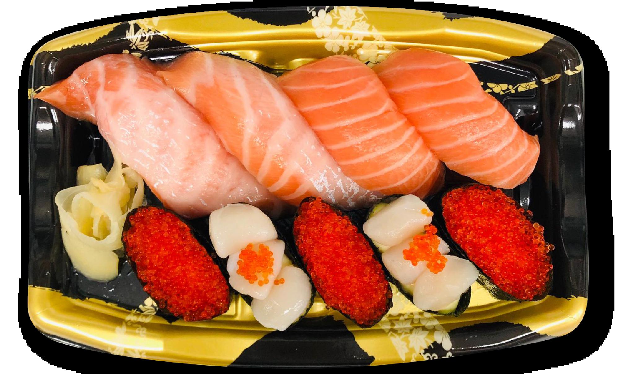 三文魚小柱盛