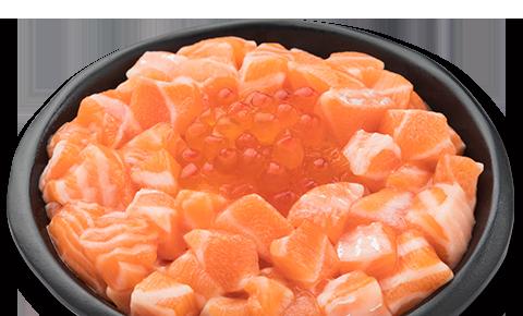 三文魚親子丼