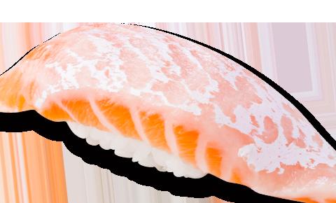 厚切一貫三文魚壽司
