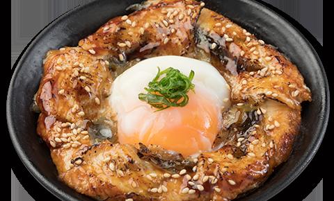 溫泉玉子鰻魚丼