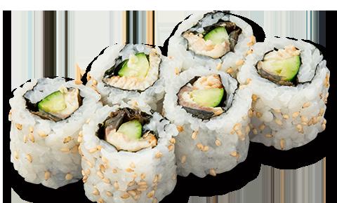 芝麻鰻魚卷