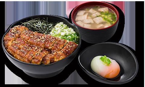 蒲燒鰻魚定食