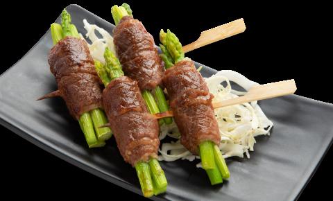 蘆筍牛肉卷