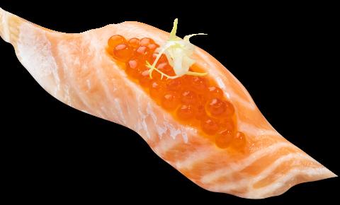 親籽三文魚腩壽司