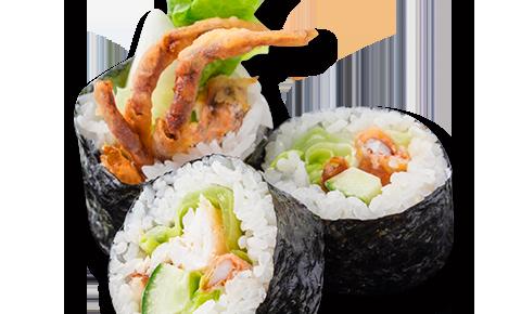軟殼蟹卷壽司