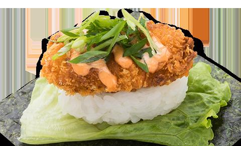 辣味廣島蠔散壽司