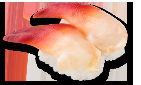 北寄貝壽司