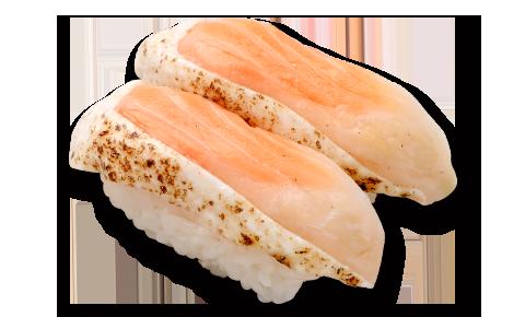 燻三文魚肚壽司