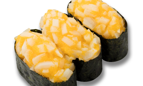 黃金墨魚壽司