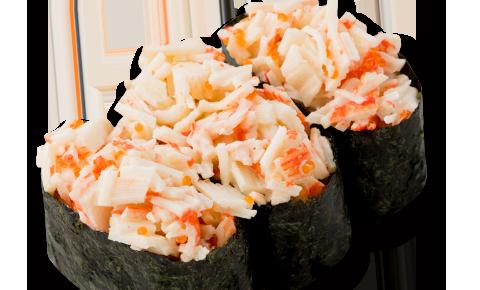 蟹柳絲壽司